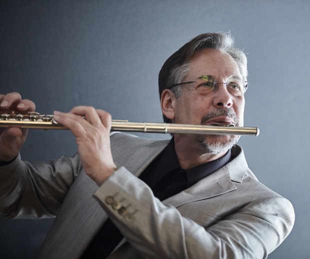 Chris Klich and flute